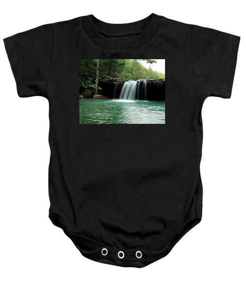 Falling Water Falls Baby Onesie