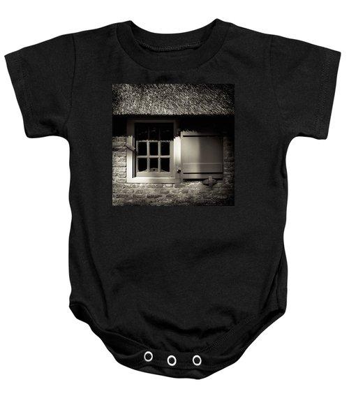 Farmhouse Window Baby Onesie
