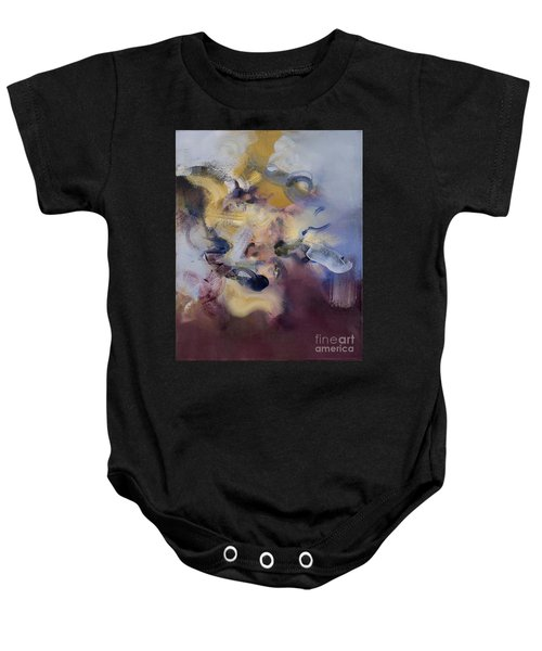Fear Of Letting Go Baby Onesie