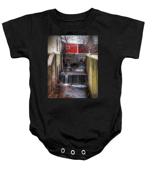 Feeder Canal Lock 13 Baby Onesie
