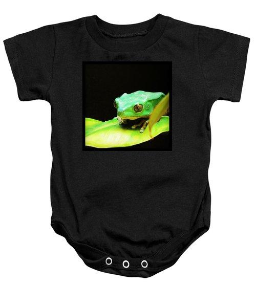 Feeling Froggy Baby Onesie