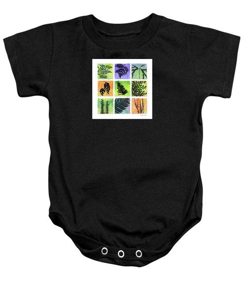 Ferns Of Hawaii Baby Onesie