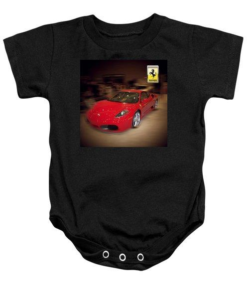 Ferrari F430 - The Red Beast Baby Onesie