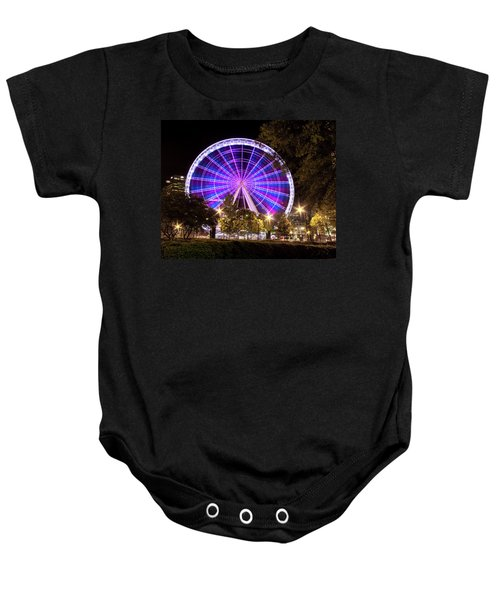 Ferris Wheel At Centennial Park 1 Baby Onesie