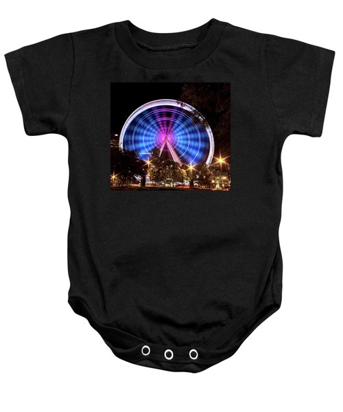 Ferris Wheel At Centennial Park 2 Baby Onesie