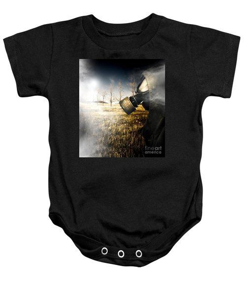 Field Of Terror Baby Onesie