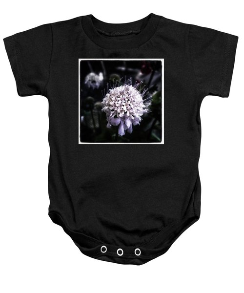 Baby Onesie featuring the photograph Field Scabious. A Member Of The by Mr Photojimsf