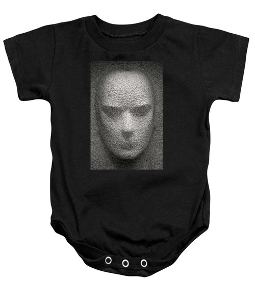 Figure In Stone Baby Onesie