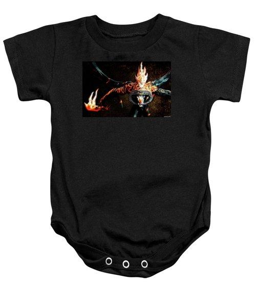 Fire Balrog Baby Onesie