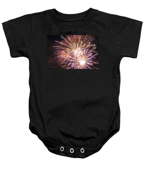 Fireworks In The Park 3 Baby Onesie