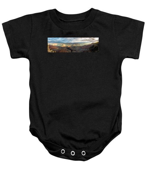 First Light In The Canyon Baby Onesie