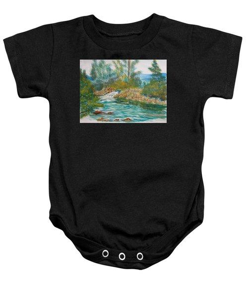 First Watercolour Baby Onesie