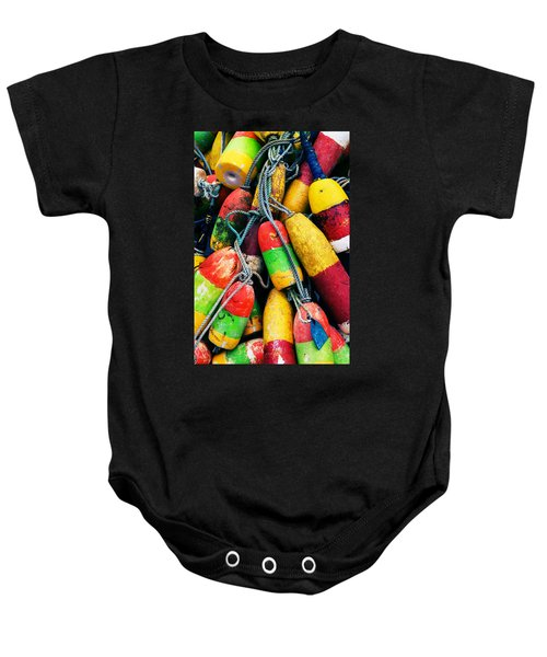 Fishermen's Floats Baby Onesie