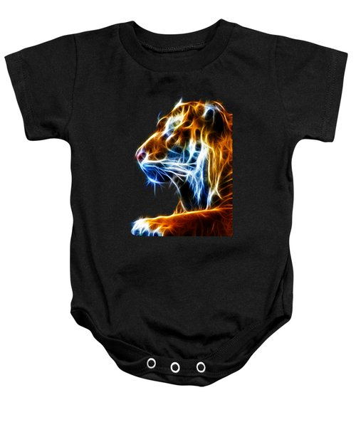 Flaming Tiger Baby Onesie
