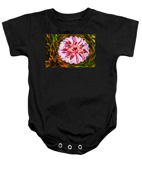 Floating In Time Baby Onesie