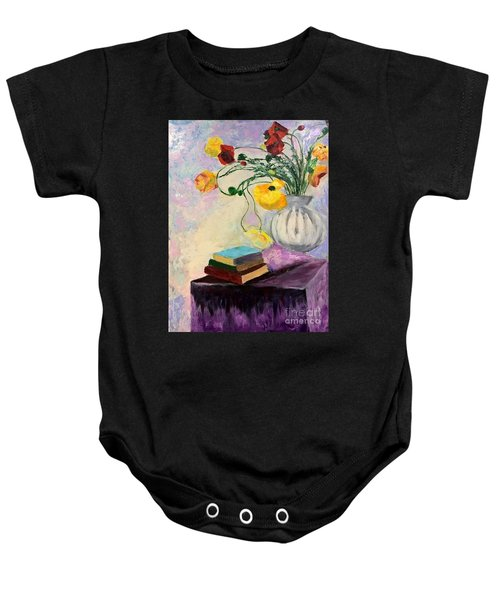 Floral Abstract Baby Onesie