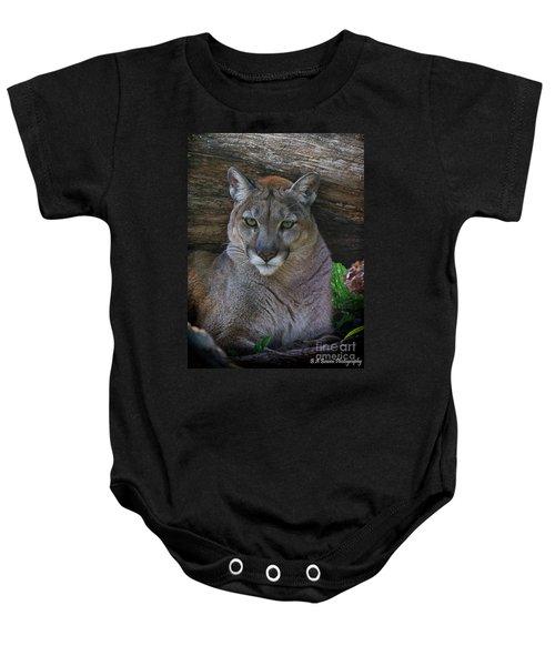 Florida Panther Baby Onesie