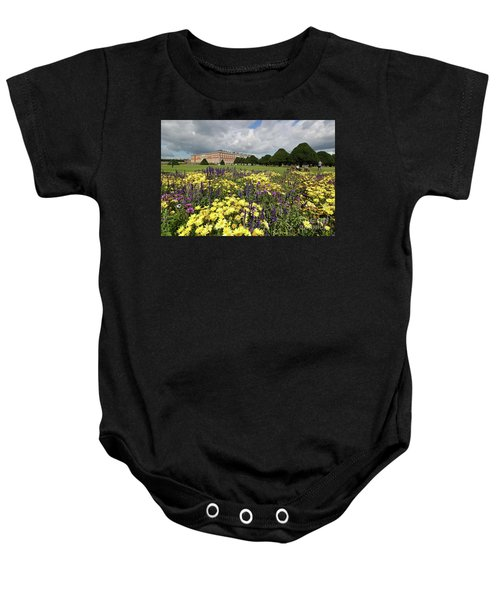 Flower Bed Hampton Court Palace Baby Onesie
