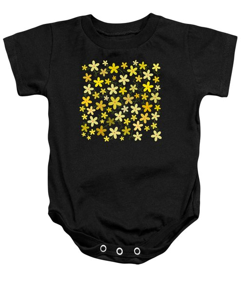 Flower Folly Baby Onesie