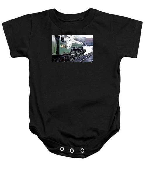 Flying Scotsman Locomotive Baby Onesie