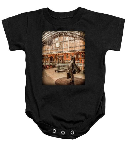 London, England - Flying Time Baby Onesie