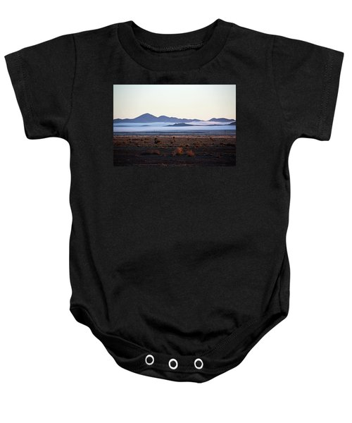 Fog In The Peloncillo Mountains Baby Onesie