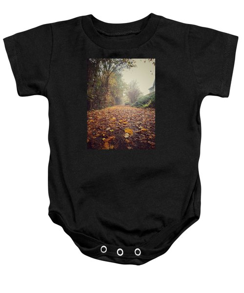 Baby Onesie featuring the photograph Foggy Morning by Pedro Fernandez