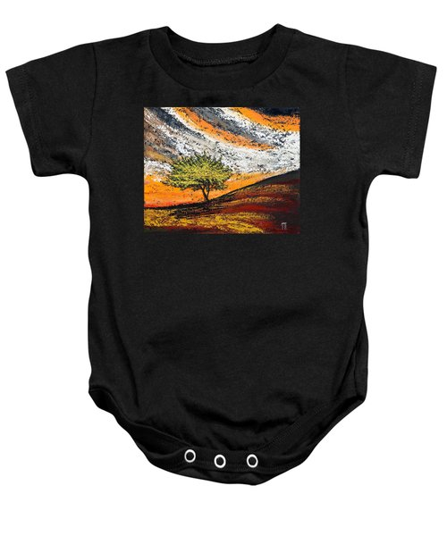 Follow The Clouds Baby Onesie