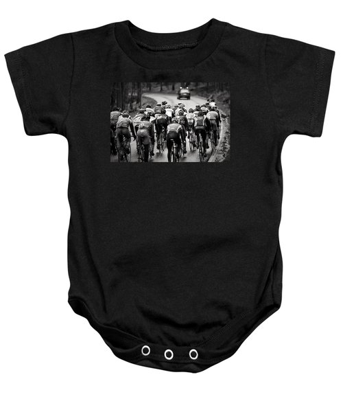Follow The Lights Baby Onesie
