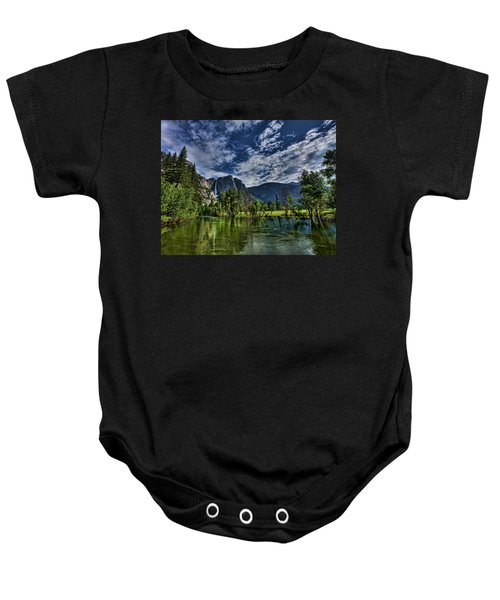 Follow The River Baby Onesie