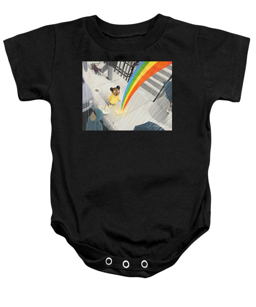 Follow Your Rainbow Baby Onesie
