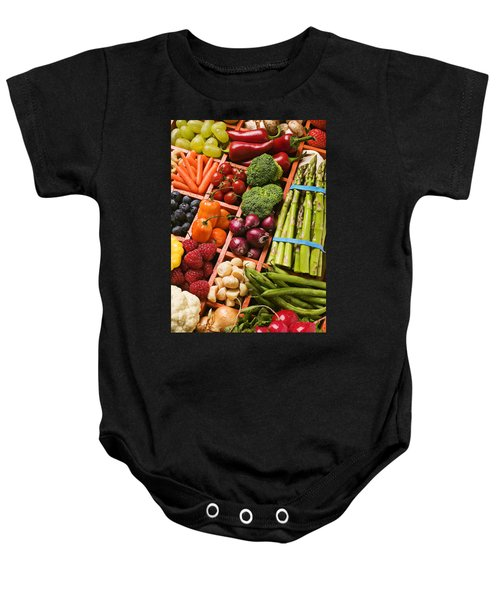 Food Compartments  Baby Onesie