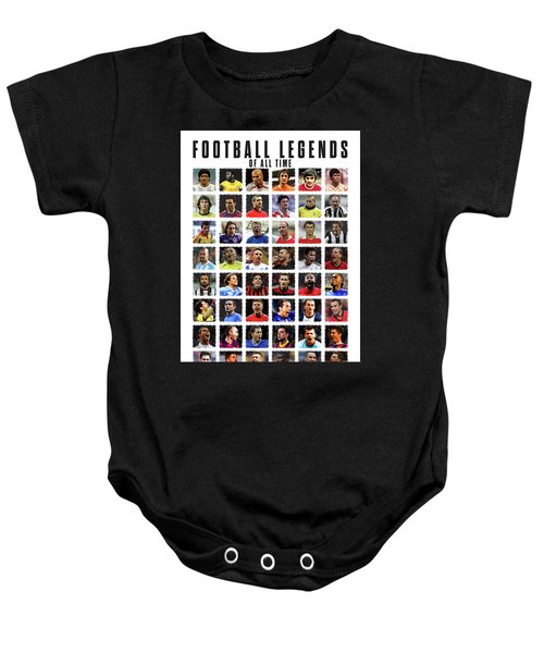 Football Legends Baby Onesie