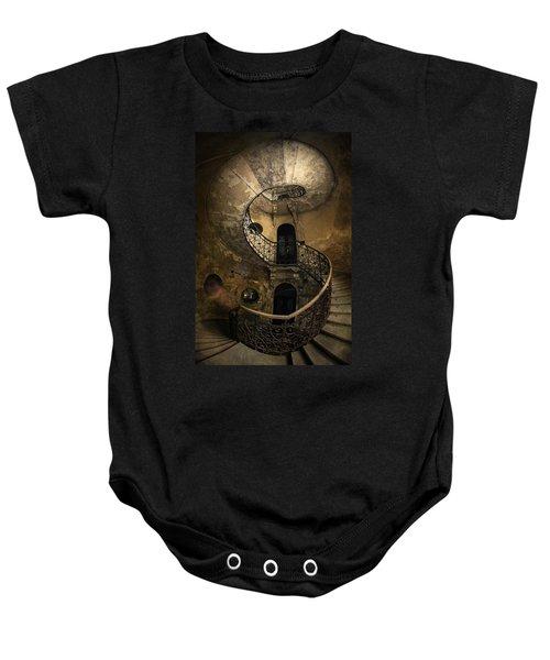 Forgotten Staircase Baby Onesie