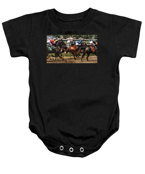 Forty Mph Baby Onesie