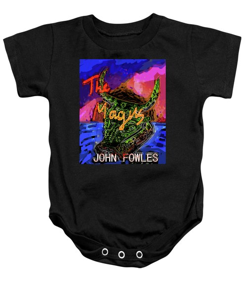 Fowles Magus Poster  Baby Onesie