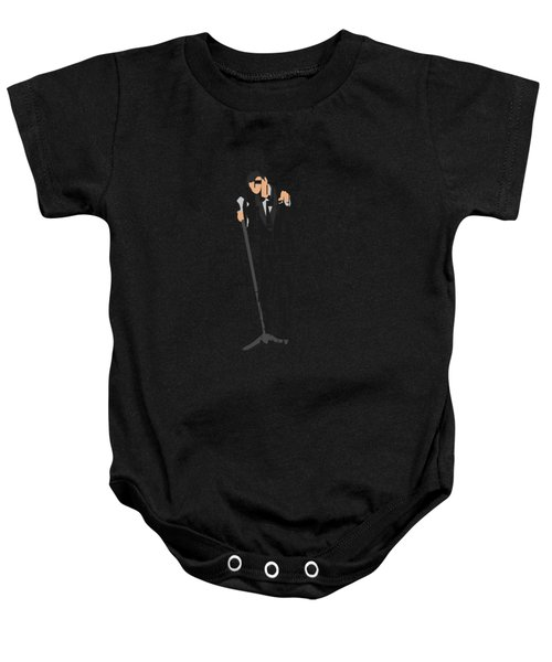 Frank Sinatra Typography Art Baby Onesie