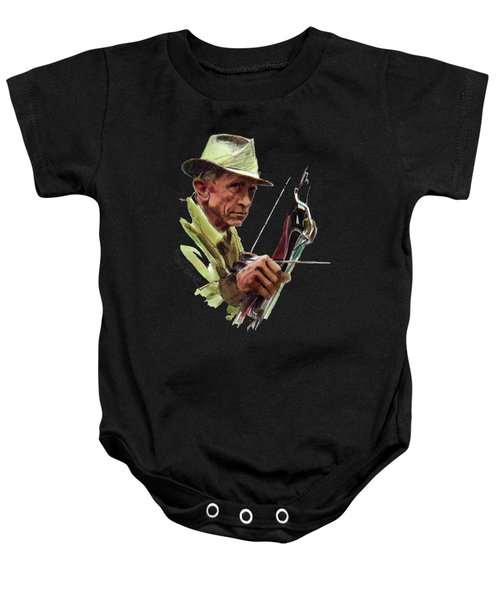 Fred Bear Archery Hunting Bow Arrow Sport Target Baby Onesie