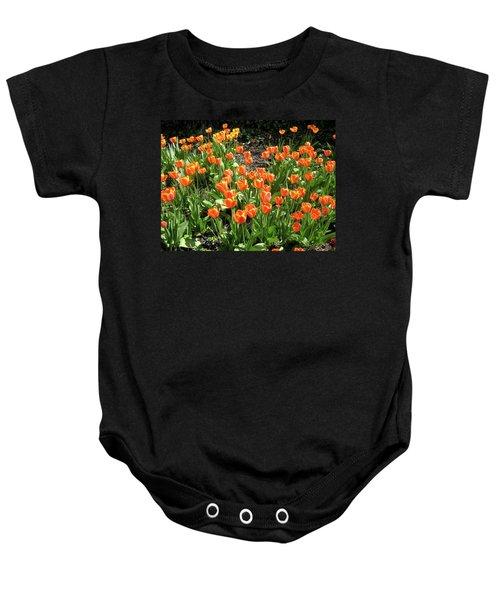 Fred's Garden Baby Onesie