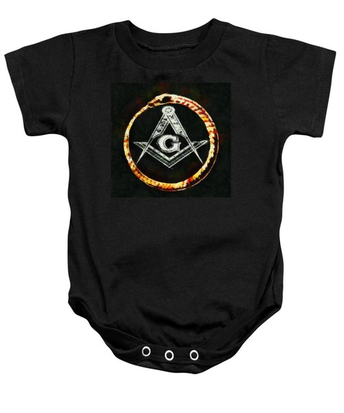 Freemason Symbol Baby Onesie