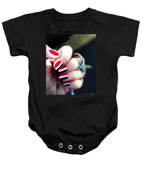 Frenchy Nails Baby Onesie