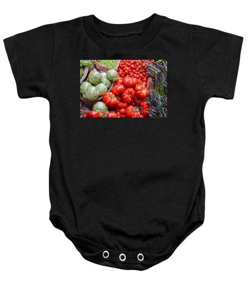Fresh Vegetables Baby Onesie