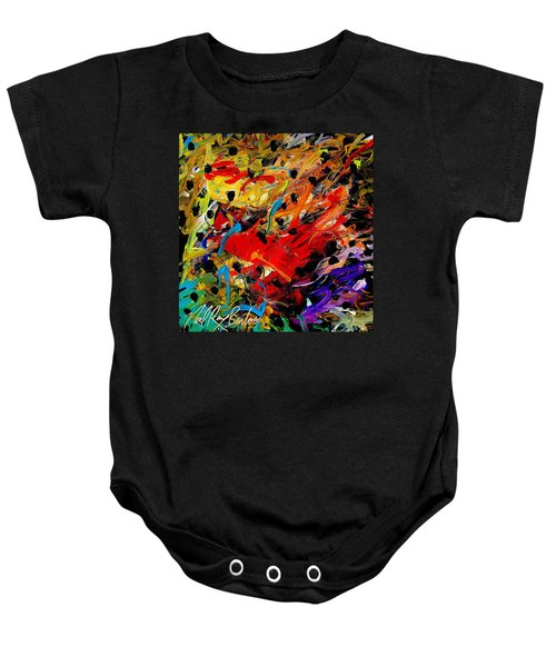 Friends Of The Praying Mantise Baby Onesie