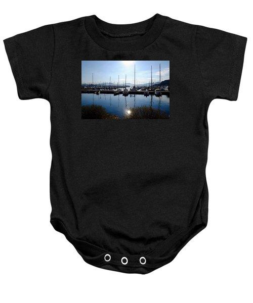 Frioul Island Sailing Resort Baby Onesie