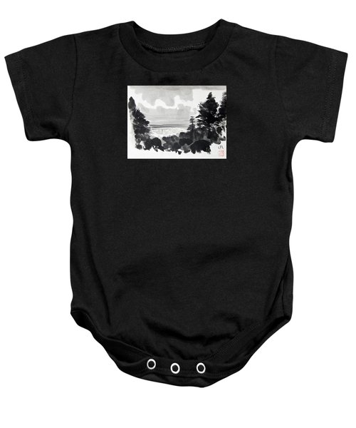 From The Hill Baby Onesie