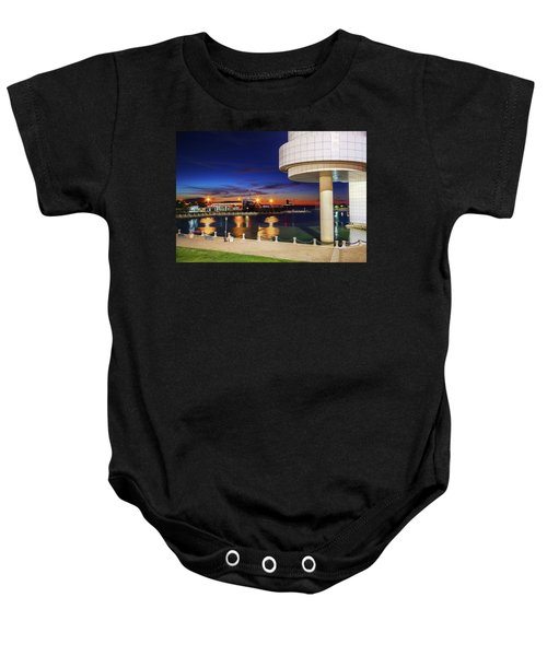 From The Rock Hall Baby Onesie