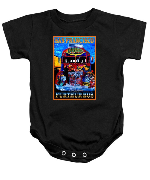50th Anniversary Further Bus Tour Baby Onesie