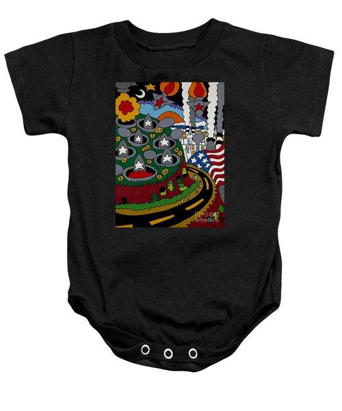 Future Development B Baby Onesie