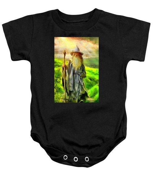 Gandalf, The  Grey Baby Onesie