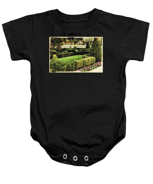 Garden  Baby Onesie